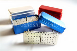 Dental Equipment Disfect Box for Endo Files Sterilization 72 Holes 3 Usages 2 Layer pictures & photos