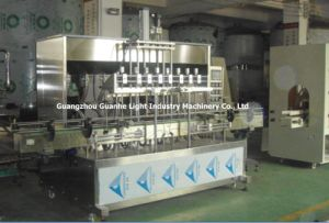 Automatic Liquid Filling Machine with Rotor Pump Filling (GHAPF-R8) pictures & photos