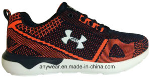 Men Gym Sports Running Shoes Flyknit Woven Upper (815-5675) pictures & photos