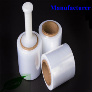 Good Adhesive Casting Mini Wrap Bundling Film Handy PE Stretch Film pictures & photos