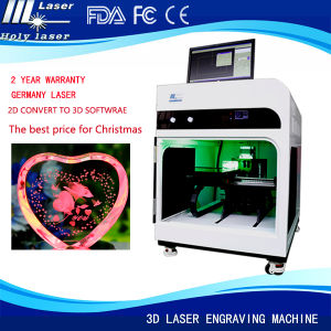 2015 Inside/Inner 3D Laser Engraving Engraver Printer Machine for Crystal Crafts pictures & photos