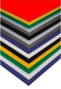 Best-Selling PP Hollow Sheet/Board, Coroplast Sheet, 2mm-6mm (QC0026)