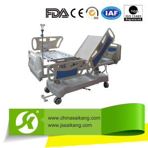 ICU Electric Hospital Bed (SK002-6) pictures & photos