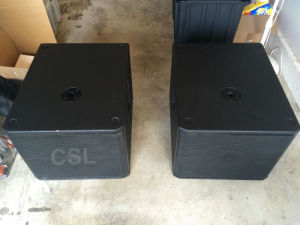 Vrx918s 18′′ Neodymium Subwoofer Line Array Speaker Audio pictures & photos