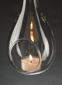 Hanging Teardrop Tealight Holder pictures & photos
