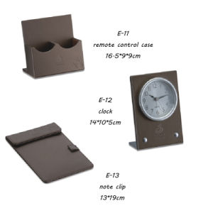 Memo Pad Leather E Products Date Clip PU Product pictures & photos
