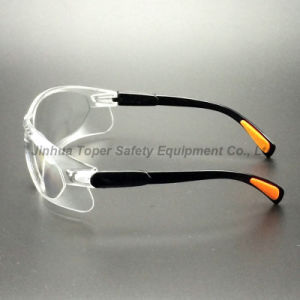 Anti-Scratch Clear PC Lens Safety Glasses (SG111) pictures & photos