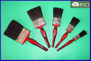 777 Black Bristle Deep Maroon Wooden Handle Paint Brush pictures & photos