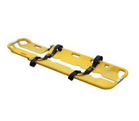 Plastic Scoop Stretcher with 2 Belts with CE and ISO pictures & photos