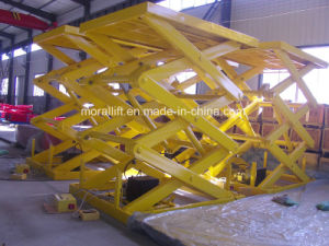 5 Meters Hydraulic Scissor Lift Table For Cargo pictures & photos