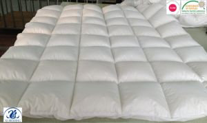 Thick Microfiber Quilted Mattress Topper