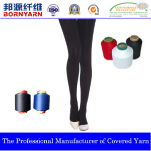Nylon Covering Spandex Yarn for Pantyhose with Dcy pictures & photos