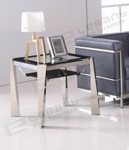 Glass Side Table, Stainless Steel Side Table Ca135 pictures & photos