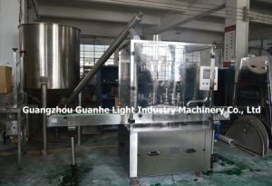 Automatic Small Bottle Powder Filling Machine with Capping pictures & photos