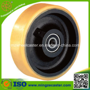12 Inch High Quality Polyurethane Mold on Cast Iron Wheels pictures & photos