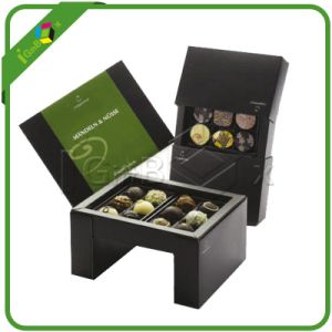 Food Grade Fancy Chocolate Paper Packaging Gift Chocolate Box for Candy/Cake Packing pictures & photos