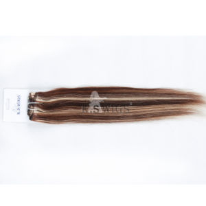 Top Quality Glue in Remy Tape Hair Weft Extension pictures & photos