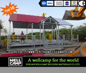 Concrete Panel Light Steel Structure Luxury Prefab Villa House pictures & photos