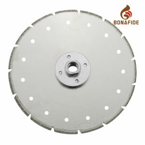 Electroplated Diamond Saw Blade with Cooling Holes pictures & photos