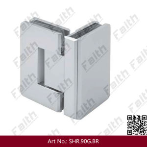 Excellent Quality Brass Frameless Shower Glass Door Hinge (SHR. 90G. BR) pictures & photos