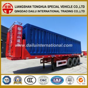 3-Axle Rear Dumping/Self Dump Tipper Trailer pictures & photos
