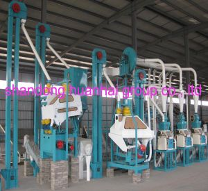 50tpd 80tpd 100tpd Wheat Flour Mill pictures & photos