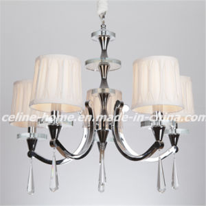 Modern Iron Chandelier Lamp with K9 Crystal (SL2071-5) pictures & photos