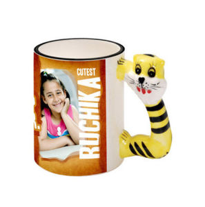 Animal Ceramic Mug-Cat