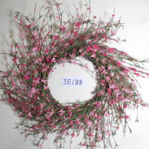 Je188 Classical Handmade Flower Wreath Artificial Flowers
