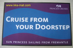 Photo Door Mats With Knitted Fabric pictures & photos