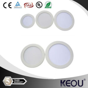 High Brightness 10inch 25W Round Recessed LED Panel Lamp pictures & photos