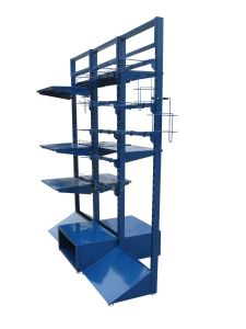 Tools Display Rack/Metal Iron Display Stands/Supermarket Display Rack/Warehouse Display Rack