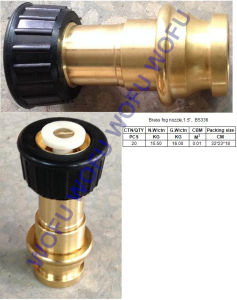 "1.5"" Brass Fog Nozzle pictures & photos"