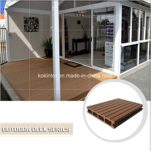 WPC Hollow Outdoor Deck/Wood Plastic Composite Board/Plastic Skirting Board pictures & photos