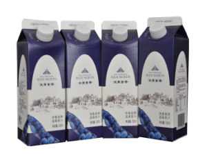 Blueberry Juice Gable Top Carton Packing Machine pictures & photos
