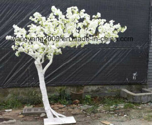 Hot Sale White Artificial Fake Handmade Sakura Cherry Blossom Tree for Outdoor Indoor Decoration pictures & photos