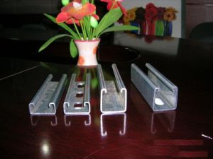 Solar Photovoltaic Bracket Accessories Q235 Channel pictures & photos