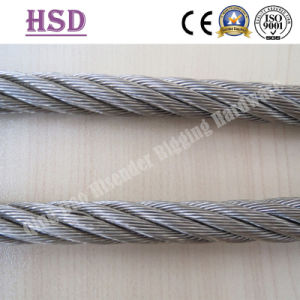 Cable, Wire Rope, Stainless Steel, Galvanized, Ungalvanized, High Test, Good Quality, Rigging Hardware Marine Hardware pictures & photos