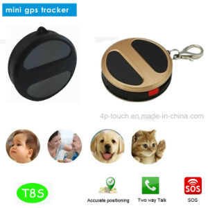 GSM Mini GPS Tracker with SIM Card Slot and Real-Map pictures & photos