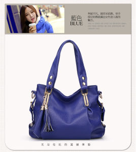 2015 New Fashion Korea Design Classical Leather Lady Handbag