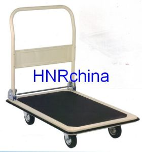 Capacity Steel 300kgs Platform Hand Cart pictures & photos
