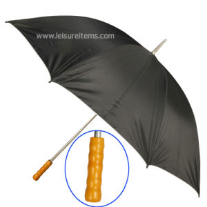 Wood Handle Golf Umbrella (OCT-G18) pictures & photos