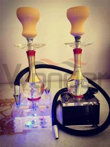 China Manufacture Acrylic Shisha Hookahs for Wholesale