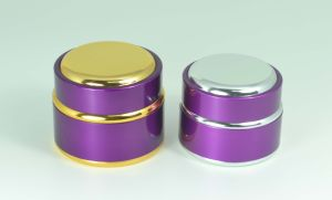Cosmetic Aluminum Cream Jar pictures & photos