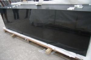 Polished Mongolia Black Basalt Stone/Covering/Flooring/Paving/Tiles/Slabs/Granite/Basalt pictures & photos
