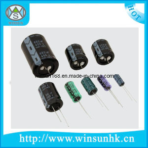 CD26g Long Life/Energy-Saving Lamp Type RoHS Aluminum Electrolytic Capacitor