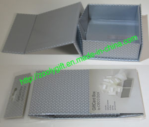Printing Giftcard Box Folding Paper Gift Box pictures & photos
