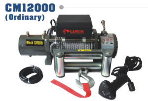 Trailer Winch 12000 Pull Capacity 12V CE Approval pictures & photos