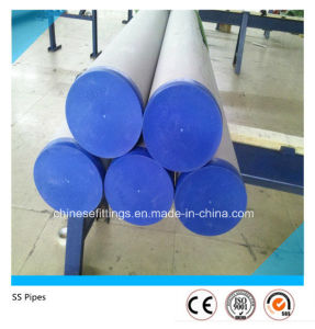 ASTM A312 Stainless Steel Seamless Pipe (Plain End) pictures & photos