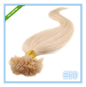 Peruvian Remy Nail U Tip Human Hair Extensions pictures & photos